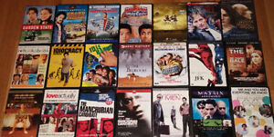 Large selection of DVD movies - 3 for $5