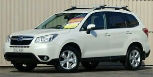 2013 Subaru Forester MY13 2.5I-L Pearl White Continuous Variable Wagon Lismore Lismore Area Preview