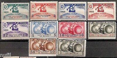 PANAMA Unissued Colon Columbus Set ** MNH 1935 No emitidos