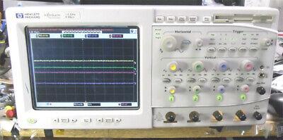 Agilent 54845a Infiniium Oscilloscope 4 Channels 1.5g 8g Sample Rate