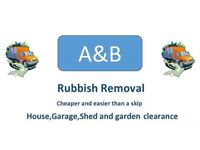 RUBBISH REMOVAL - GARDEN, HOUSE AND SHED CLEARANCES..CHEAP RATES