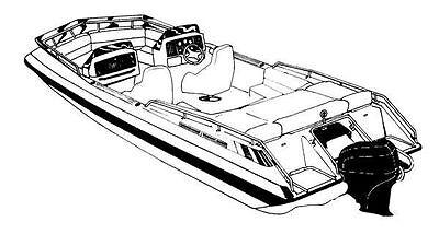 Ski Deck Boat - 7oz BOAT COVER DECK BOAT SKI DECK O/B 1987-1996