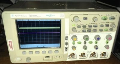 Agilent Mso6104a 1 Ghz 4 Channel Mixed Signal Oscilloscope Probes Atlanta Usa