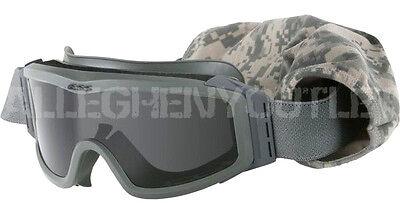 OAKLEY® ESS Profile NVG SAND WIND DUST Ballistic GOGGLES Green w Dark Lens VGC
