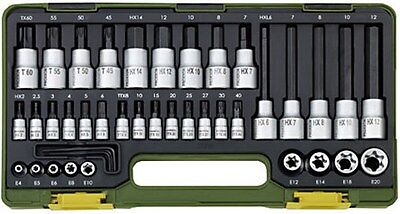 23290 Proxxon Spezialsatz für TX- und Innensechskantschrauben, 42-teilig. online kaufen