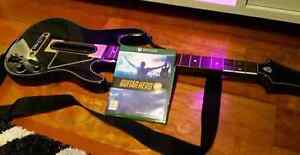 XBOX One Guitar Hero Live with guitar