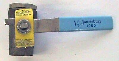 1/4 Ss Jamesbury 1000 Ball Valve 800 Wog 200 Wsp
