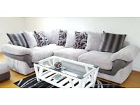 Grey corner lullabye sofa