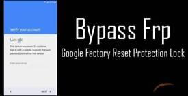 Google verifcation frp bypass