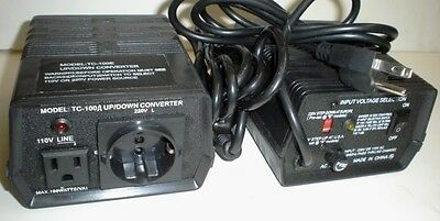 110vac - 220vac - 100w Step Updown Grounded Transformer For Usa Europe