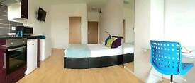 L1 - Modern studio flat for single or double occupancy in the Baltic triangle