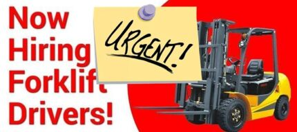 Forklift Driver required Sherwood(1800DRIVERS) Sherwood Brisbane South West Preview