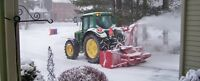 Seeking snow blowing Contractor WANTED *