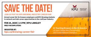 KPU Brewing Career Fair