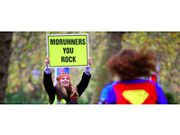 Sporty Individuals required for event marshalling at the London 10k MoRun Sun 27th Nov