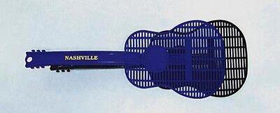 Guitar Shaped Fly Swatter Nashville Souvenir Blue ...