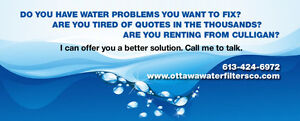 WATER SOFTENER & IRON AND SULFUR REMOVER $45 Monthly