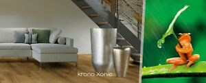 "Krono Original Xonic 7.5"" x 50.5"" Locking Luxury Vinyl Plank Flooring in 6 colors ( 100% waterproof )"