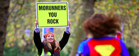 Sporty Individuals required for event marshalling at the 5k and 10k Brighton MoRun Sat 26th Nov