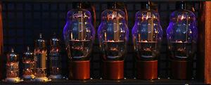 Large lots of Vacuum tubes, Hifi, Large speakers, Tube amps etc