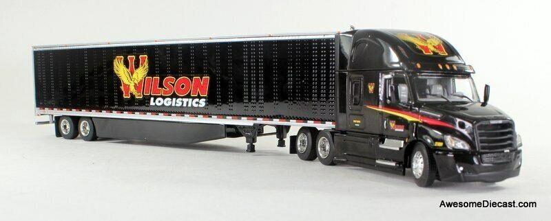 DCP 1:64 Freightliner Cascadia w/ Trailer: Wilson Logistics