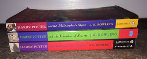Harry Potter Books 1st 3 Books in Series ~ Paperback Nice Clean