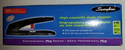 Swingline High-capacity Desktop Stapler Black 77701