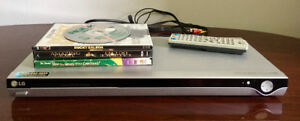 LG Progessive Scan DVD Player with DVD's