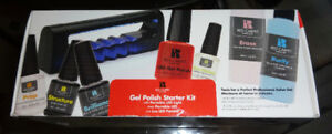 NEW GEL POLISH STARTER KIT/WITH LED LIGHT