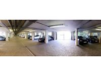 Underground secure parking space available near Canary Wharf E14 9FF