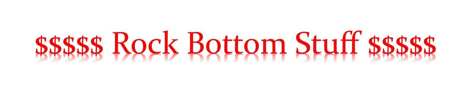 Rock Bottom Stuff