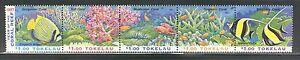 SEA-LIFE-CORALS-FISH-ON-TOKELAU-1997-Scott-251a-MNH