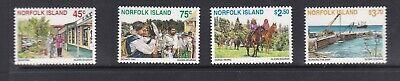 NORFOLK ISLANDS 1996 TOURISM MNH SET OF STAMPS