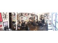 Experienced full time female barber required