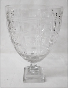 WEDDING DECOR event vase container glass crystal deco modern
