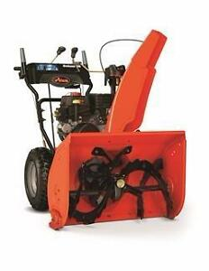 "New Ariens ""King of Snow"" Snowblowers"
