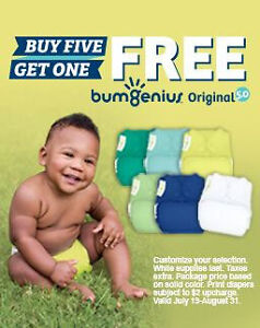 buy 5 bumGenius 5.0, get one FREE! (Six days left to SAVE!)