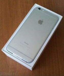 Brand New Iphone 6 Plus 128 GB space grey with white face border