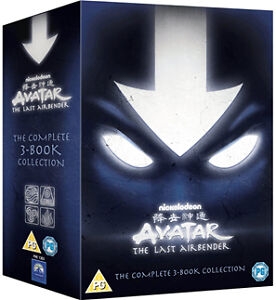 AVATAR THE LAST AIRBENDER - Complete Season Series 1 2 & 3 Boxset *NEW DVD