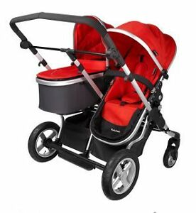 First wheels double stroller