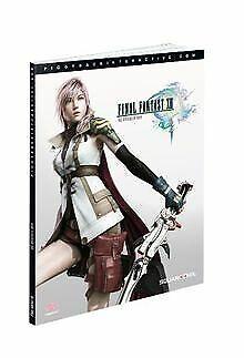 Final Fantasy XIII - Das offizielle Buch von Pigg... | Buch | Zustand akzeptabel