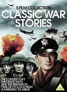 CLASSIC WAR BOXSET - 5 TITLES - DVD - REGION 2 UK
