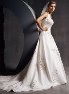 Stunning New Oleg Cassini Wedding Dress New With Tags Size 12