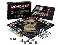 MONOPOLY: Game of Thrones - collectors edition NEW!