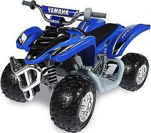 YOUR KIDS WILL GO CRAZY WHEN THEY SEE THIS - POWER WHEELS YAMAHA RAPTOR ATV - WHAT COULD BE MORE FUN !!!