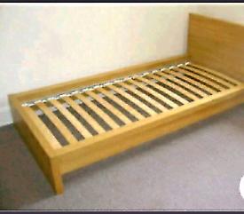 Pine single bedframe