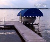 Cantilever Boat Lift For Sale at Turtle Lake Lodge