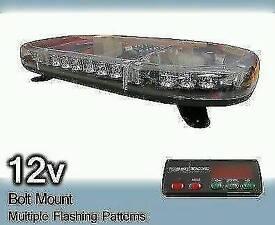 IC360 - 580mm Slimline SMD / LED Recovery Highways Lightbar(Bolt Mount)