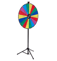 Make addition Prize Wheel to Trade Shows or events to Attract Cu