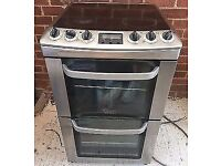 ELECTROLUX STAINLESS STEEL INSIGHT 60CM ELECTRIC COOKER,TRIPLE GLAZED, 4 MONTHS WARRANTY